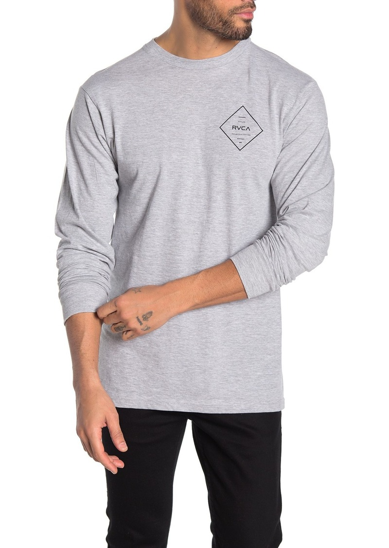 Press RVCA Chest Long Sleeve T-Shirt