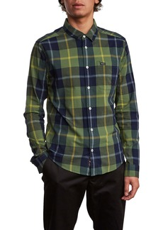 RVCA Okapi Plaid Button-Up Shirt