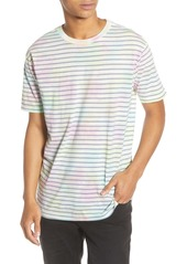 RVCA Automatic Stripe Crewneck T-Shirt