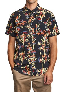RVCA Bamboozled Short Sleeve Button-Up Shirt