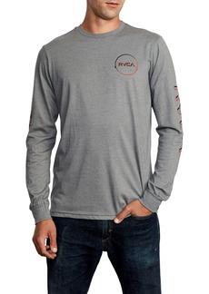 RVCA Big Glitch Long Sleeve T-Shirt