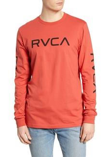 RVCA Big Logo Long Sleeve T-Shirt