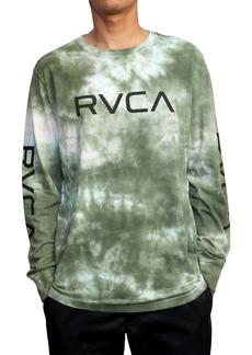 RVCA Big RVCA Tie Dye Long Sleeve Graphic Tee