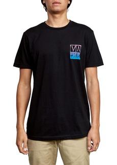 RVCA Black Logo Graphic T-Shirt