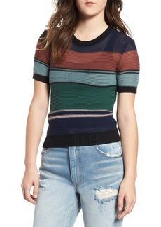 RVCA Brightside Stripe Knit Sweater