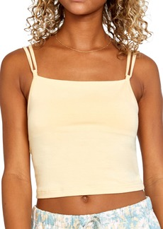 RVCA Canary Double Strap Crop Camisole