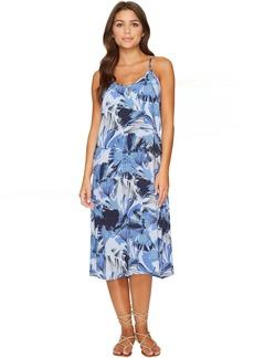 RVCA Chasing Shadows Floral Midi Dress