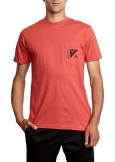 RVCA Check Mate Pocket T-Shirt
