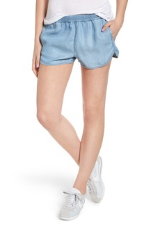 RVCA Coastal Chambray Dolphin Shorts