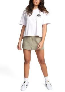 Rvca Cotton Butterfly T-Shirt