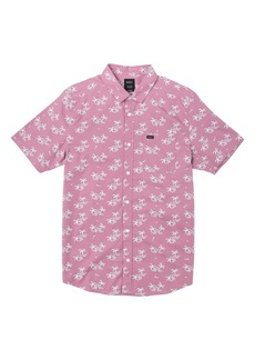 RVCA Easy Palms Short Sleeve Button-Up Shirt