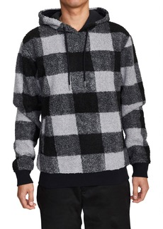 RVCA Ellis Plaid Fleece Hoodie