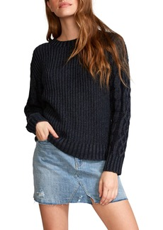 RVCA Ember Cable Sleeve Sweater