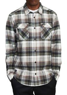RVCA Emerson Plaid Flannel Button-Up Shirt