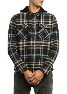 RVCA Essex Hooded Flannel Shirt