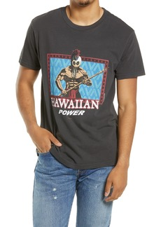 RVCA Evan Mock Hawaiian Warrior Graphic Tee