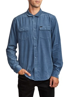RVCA Freeman Button-Up Corduroy Shirt