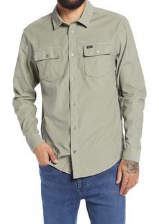 RVCA Freeman Button-Up Corduroy Shirt