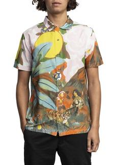 RVCA Grisancich Slim Fit Woven Shirt