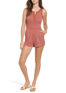 RVCA Grow Up Stripe Romper