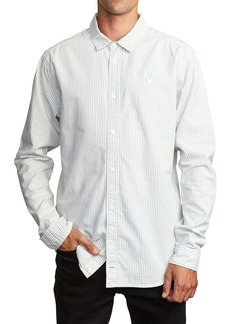 RVCA Hi-Grade Pinstripe Button-Up Shirt