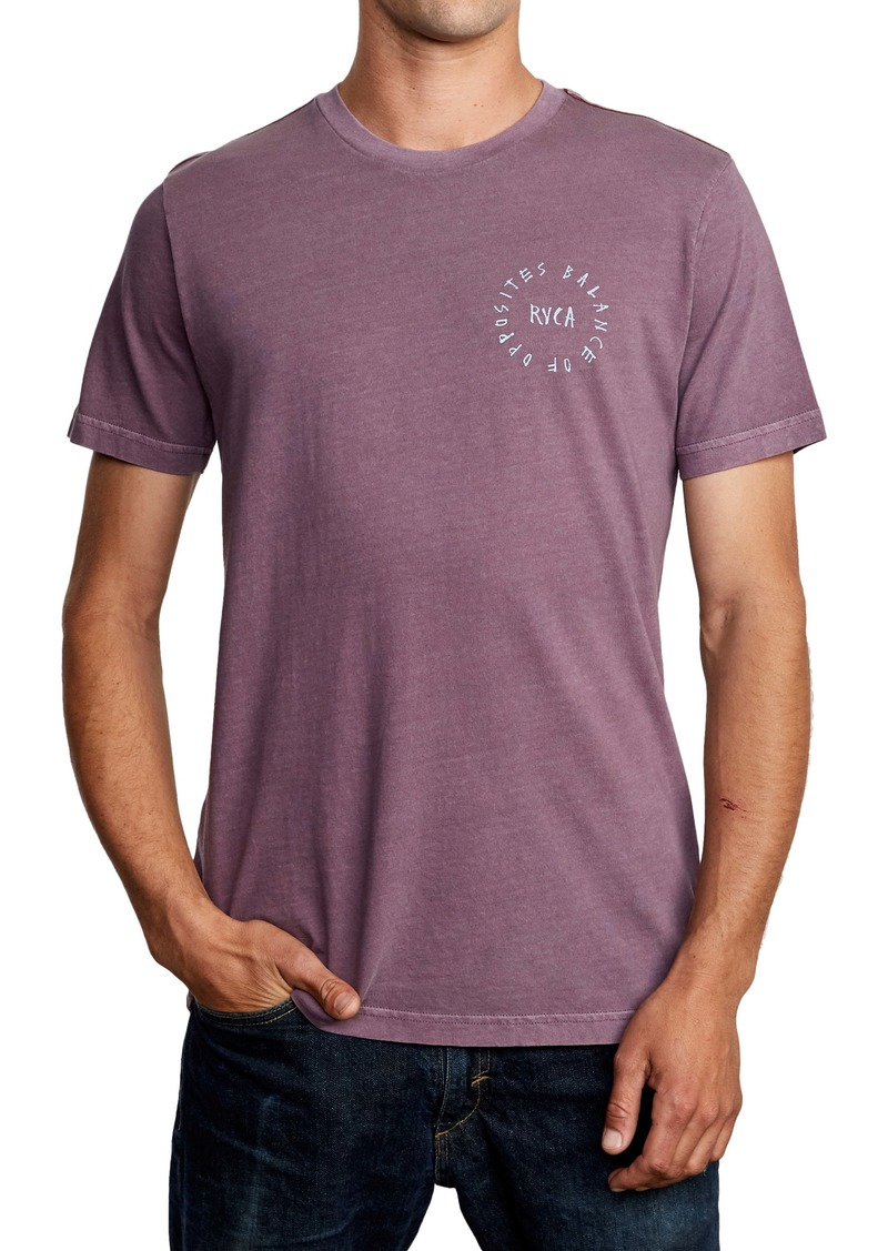 RVCA Hortonsphere Logo Graphic T-Shirt