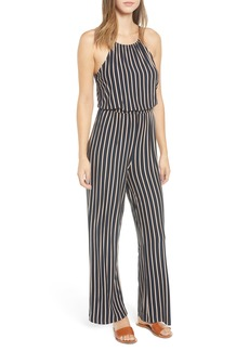 RVCA Hush Stripe Jumpsuit