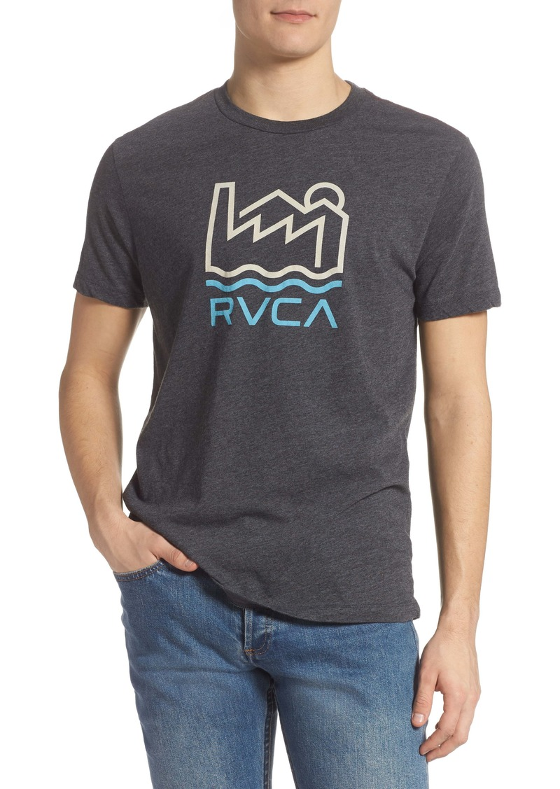 RVCA Industry Line Graphic Tee