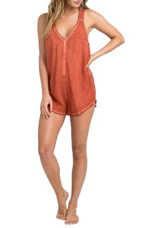 RVCA Itemized Romper