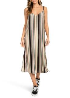 RVCA Jasmine Stripe Midi Dress