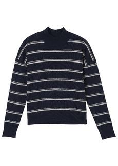 RVCA Junior's Armed Mockneck Sweater  S