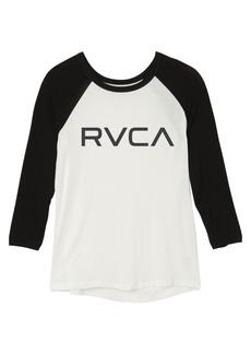 RVCA Junior's Big Raglan T-Shirt  M