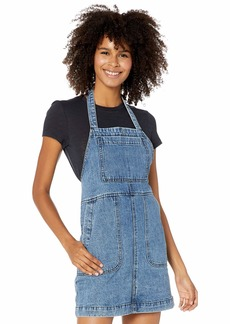 RVCA Junior's Bolt Out Apron Dress  XS