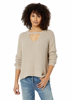 RVCA Junior's CASE Keyhole Sweater  XS