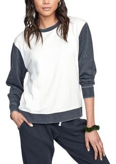Rvca Juniors' Colorblocked Sweatshirt