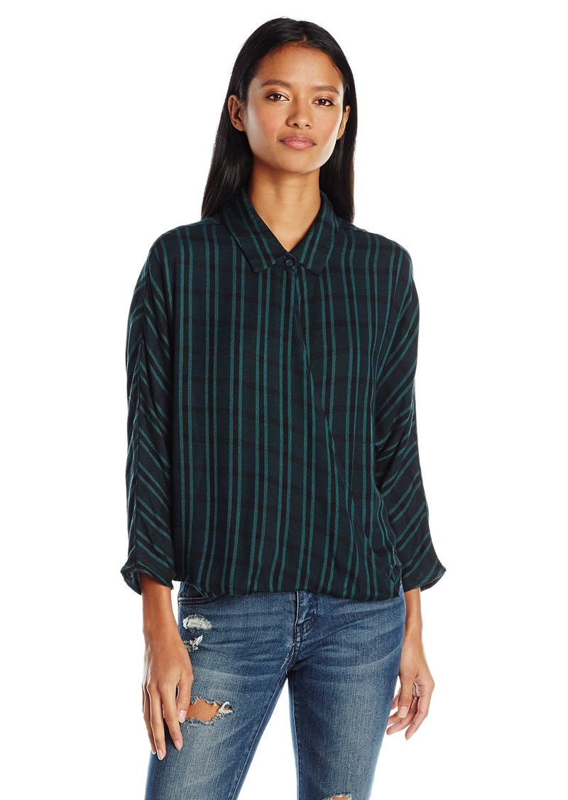RVCA Junior's Commander Long Sleeve Shirt