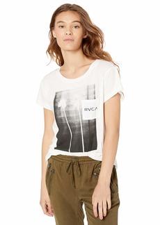 RVCA Junior's Copycat Short Sleeve Crew Neck T-Shirt  XS