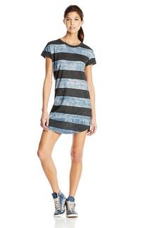 RVCA Junior's Creston Stripe Shirt Dress