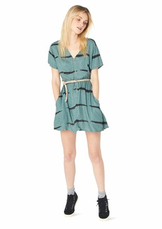 RVCA Junior's Dawning V-Neck Dress  M