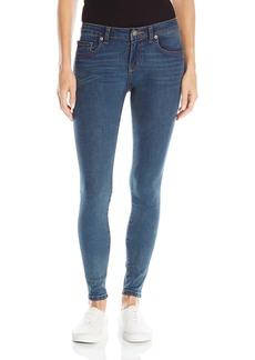 RVCA Juniors Dayley Cone Denim Mid Rise Skinny Jean