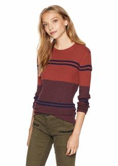 RVCA Women's Even Striped Knit Sweater