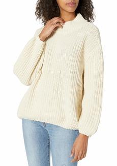 RVCA Junior's Fitz Loose FIT Sweater  M/