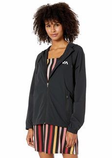 RVCA Junior's Flux TECH Jacket  L