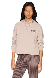 RVCA Junior's Glance Pullover Hoodie  S