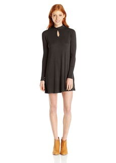 RVCA Junior's Into First Turtle Neck Sweater Dress
