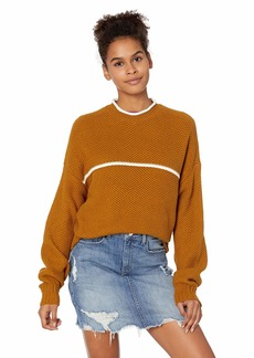 RVCA Junior's Jammer Cropped Sweater  S