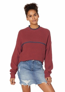 RVCA Junior's Jammer Cropped Sweater  XS