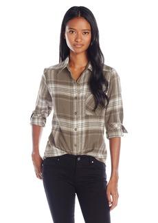 RVCA Juniors Jig Yarn Dyed Flannel Plaid Shirt