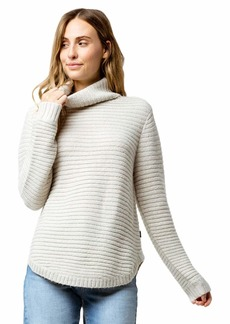 RVCA Junior's Jinx Cowl Neck Sweater  XL