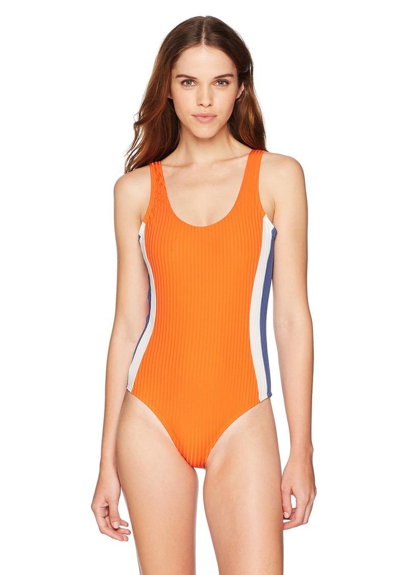 RVCA Junior's July ONE Piece Swim Suit  XS